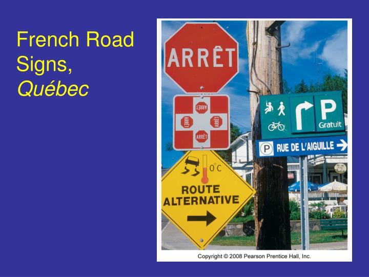 French Road Signs,