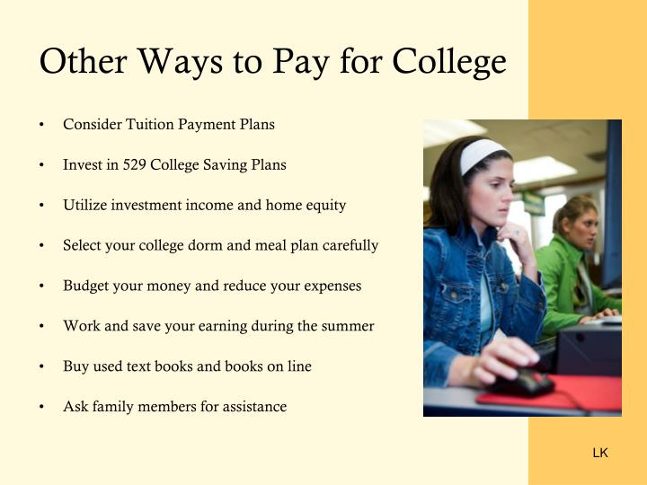 Other Ways to Pay for College