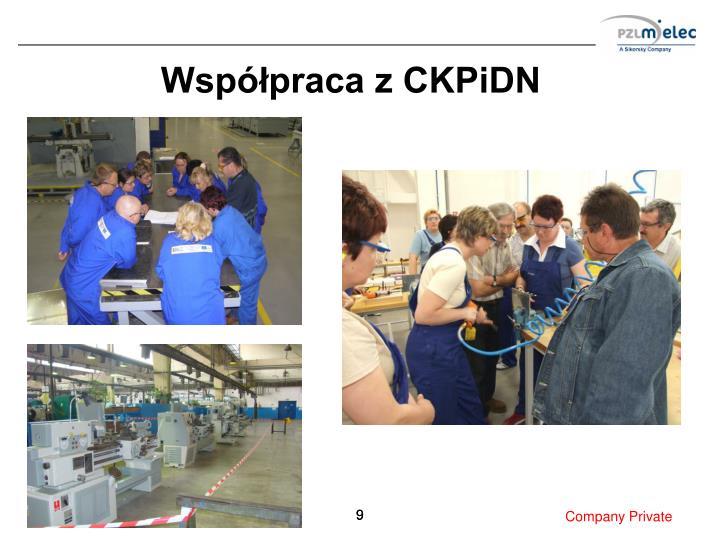 Współpraca z CKPiDN