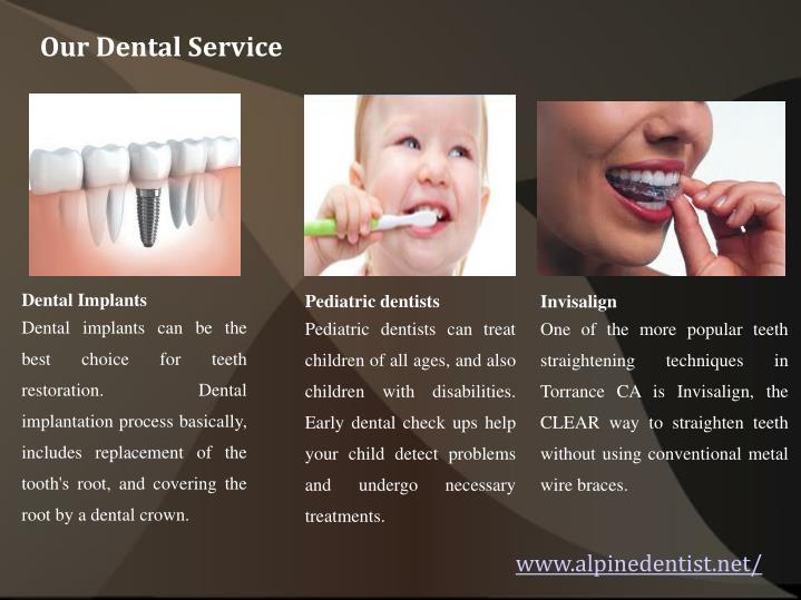 Our Dental Service