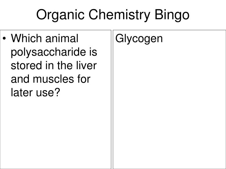 Which animal polysaccharide is stored in the liver and muscles for later use?