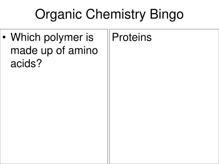 Which polymer is made up of amino acids?