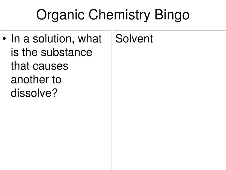 In a solution, what is the substance that causes another to dissolve?