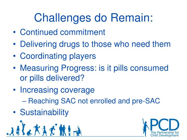 Challenges do Remain: