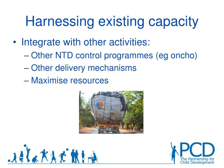 Harnessing existing capacity
