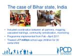 the case of bihar state india