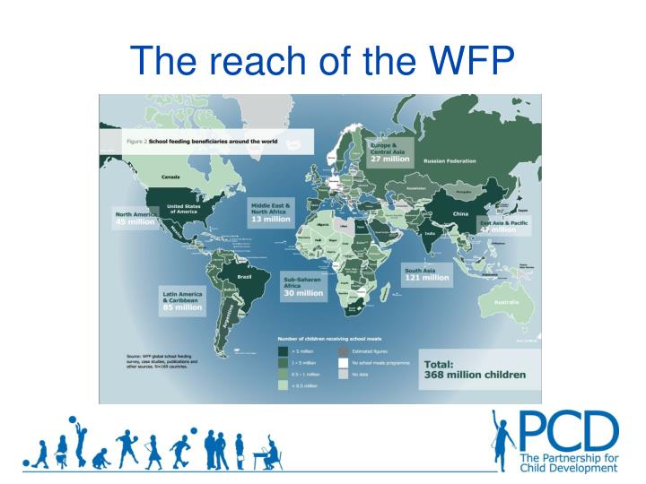 The reach of the WFP