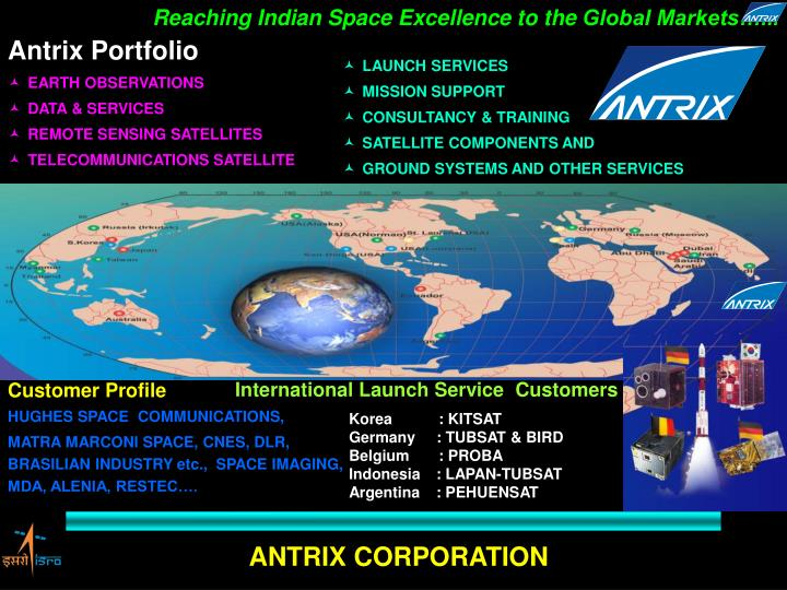 Reaching Indian Space Excellence to the