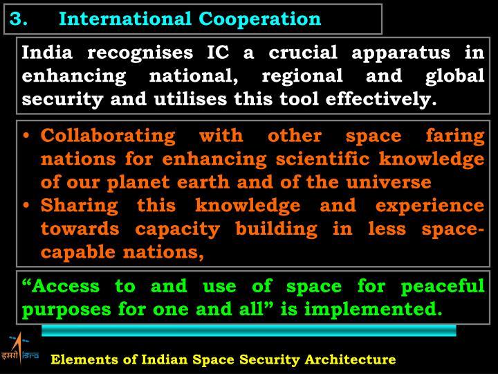 3.International Cooperation