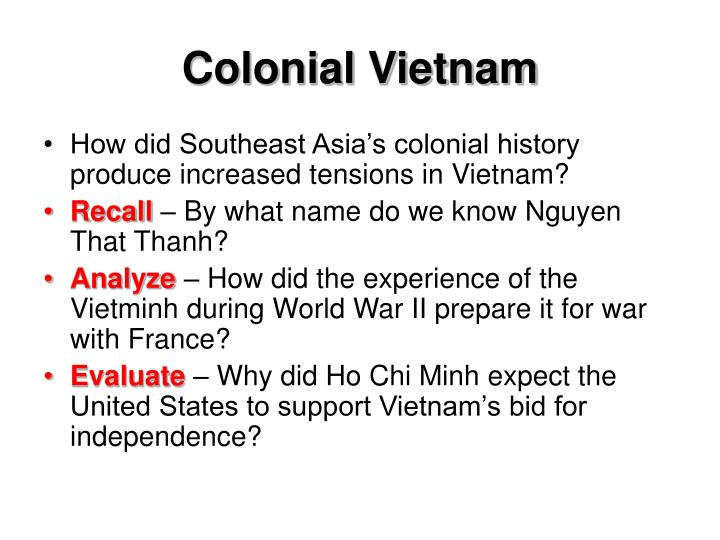 Colonial Vietnam