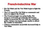 french indochina war