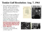 tonkin gulf resolution aug 7 1964