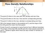 flow density relationships1