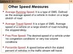 other speed measures