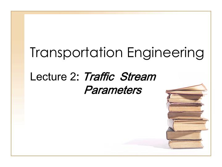 transportation engineering