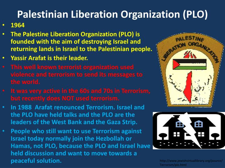an overview of the palestine liberation organization