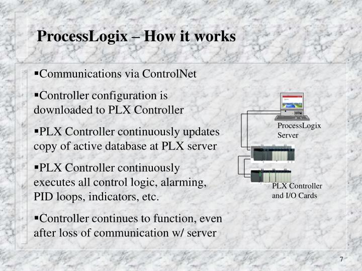 ProcessLogix Server