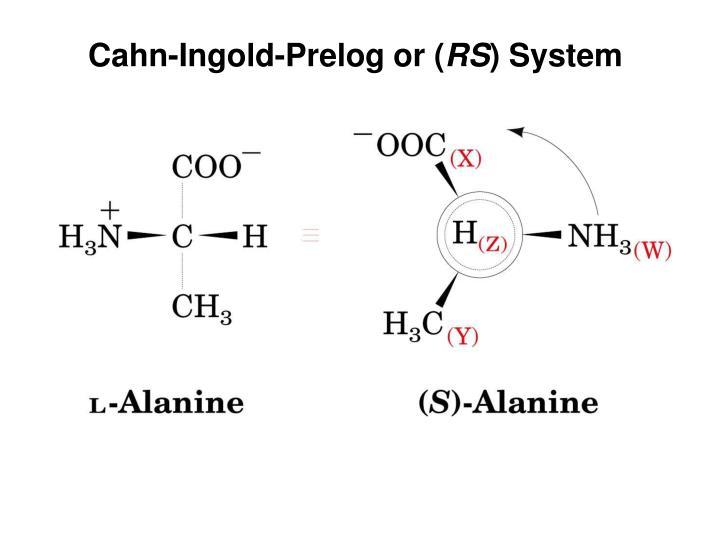 Cahn-Ingold-Prelog or (