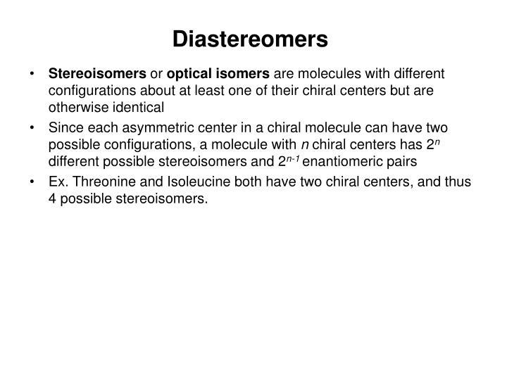 Diastereomers