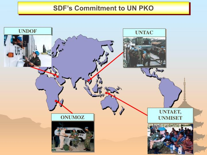 SDF's Commitment to UN PKO
