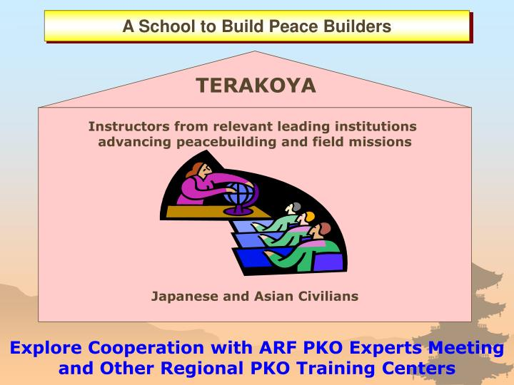 A School to Build Peace Builders
