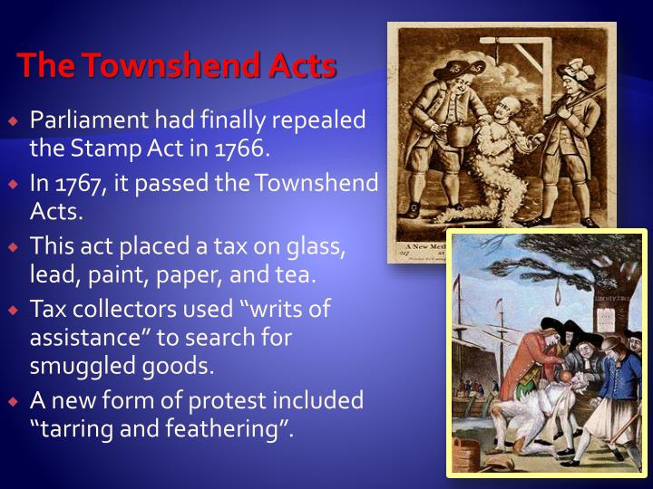 The Townshend Acts