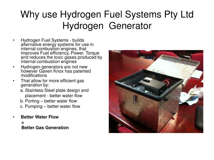 Why use Hydrogen