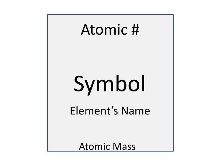 Atomic #
