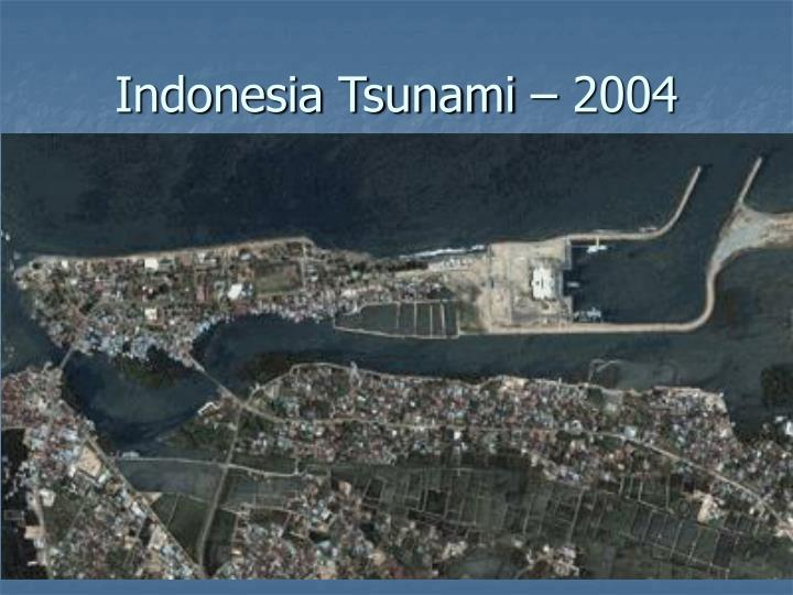Indonesia Tsunami – 2004