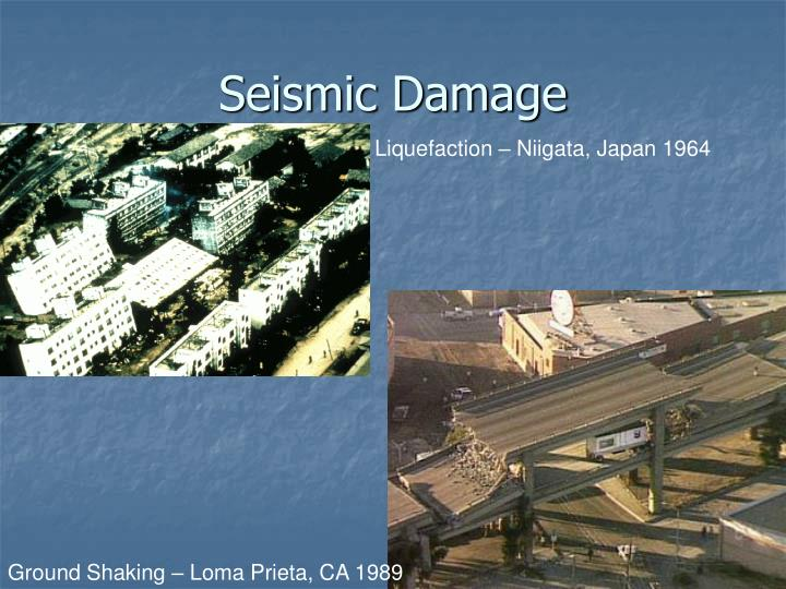 Seismic Damage