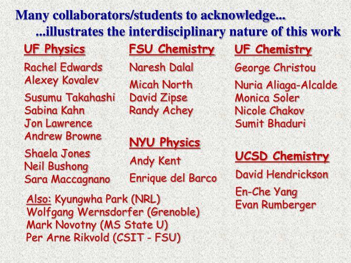 UF Chemistry