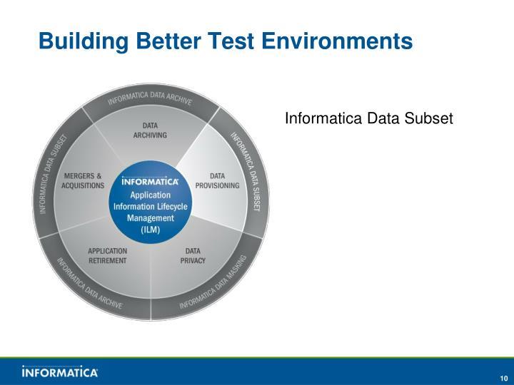 Building Better Test Environments