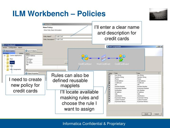 ILM Workbench – Policies