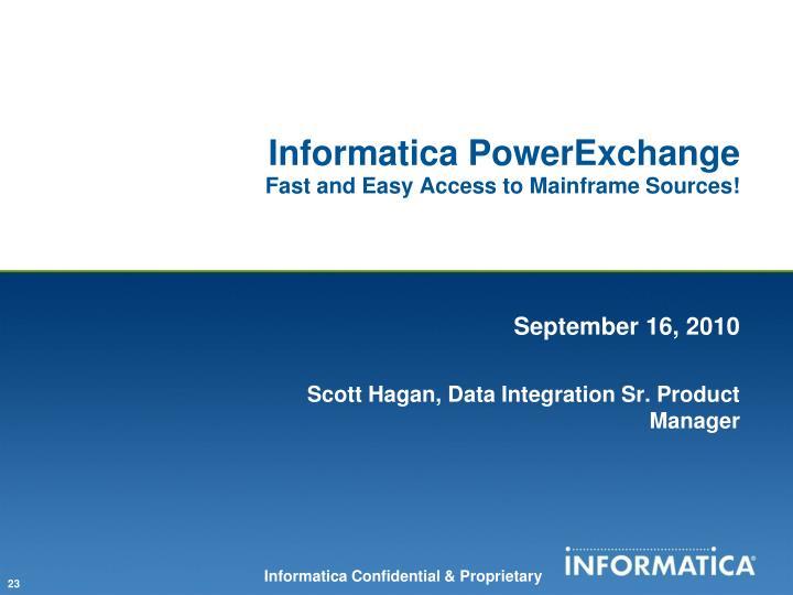 Informatica PowerExchange