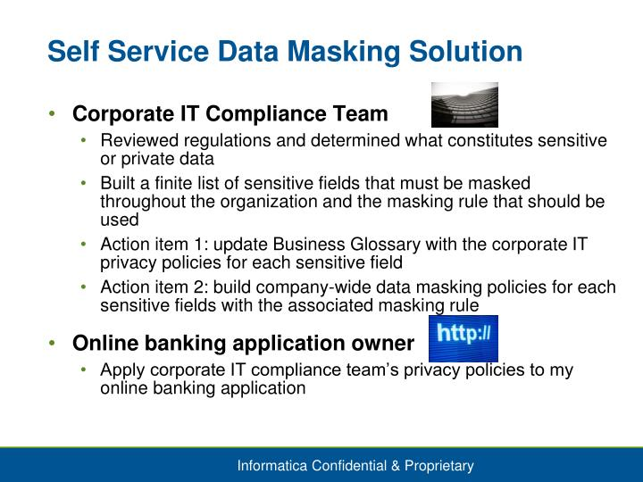 Self Service Data Masking Solution