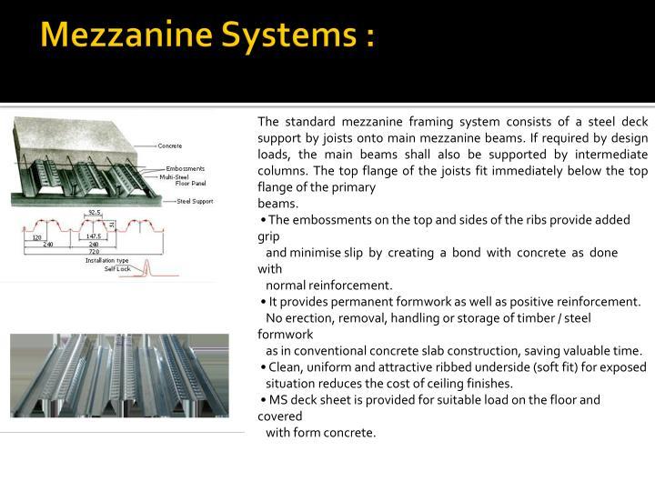 Mezzanine Systems :