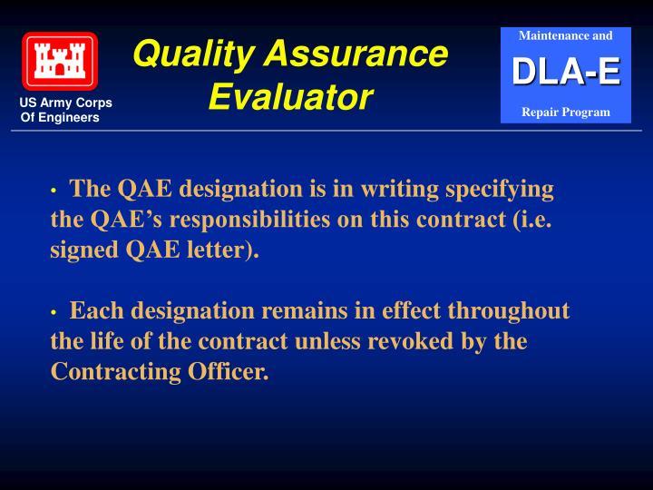 Quality Assurance Evaluator
