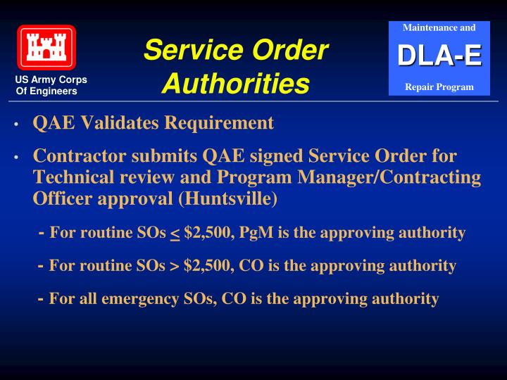 QAE Validates Requirement