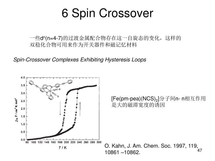 6 Spin Crossover