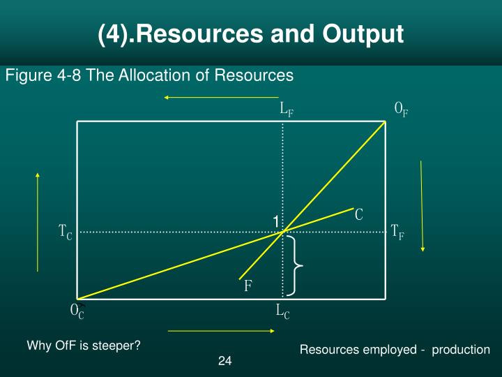 (4).Resources and Output