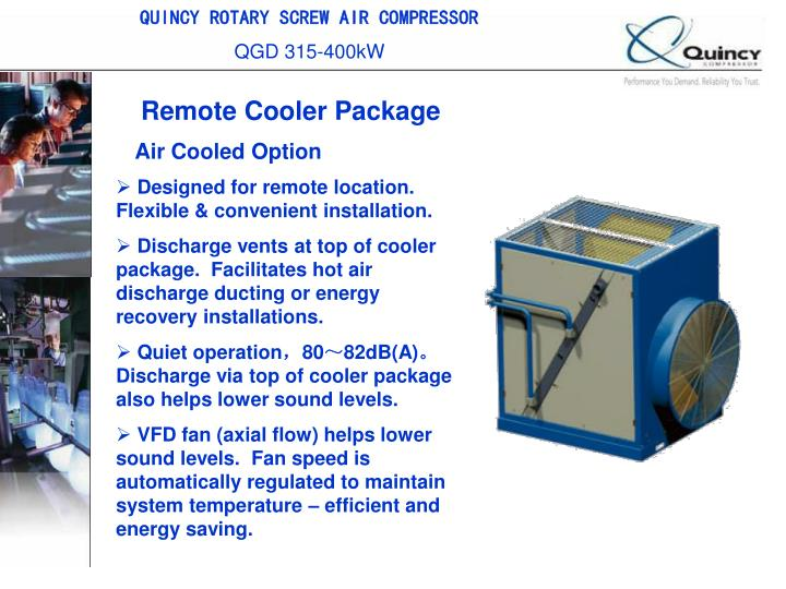 QUINCY ROTARY SCREW AIR COMPRESSOR