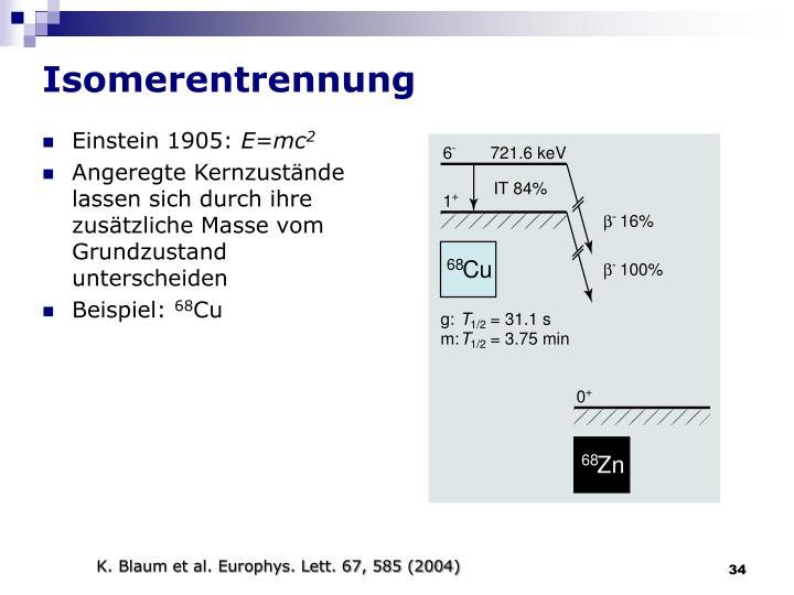 Isomerentrennung