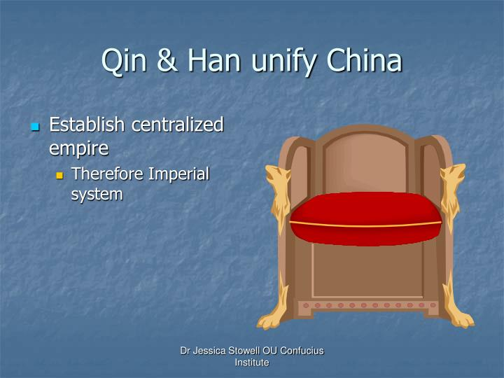 Qin & Han unify China