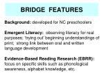 bridge features