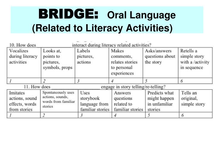 BRIDGE: