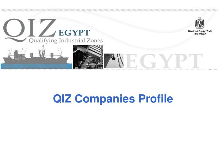 QIZ Companies Profile