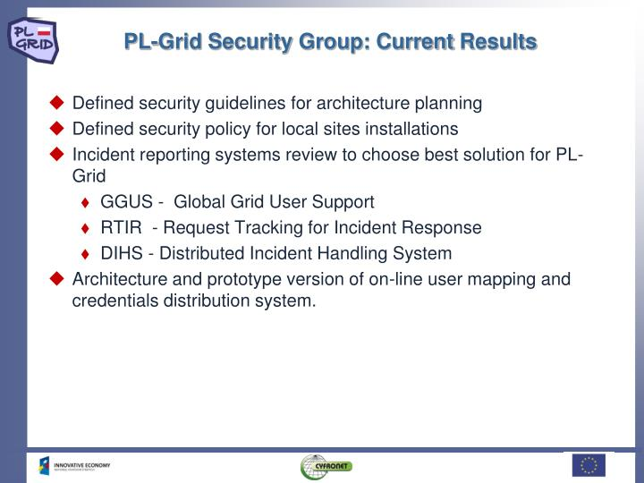 PL-Grid Security