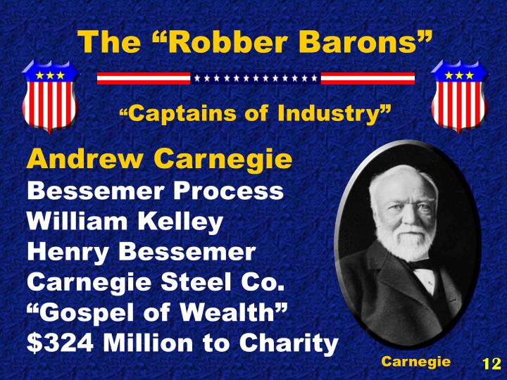 "The ""Robber Barons"""