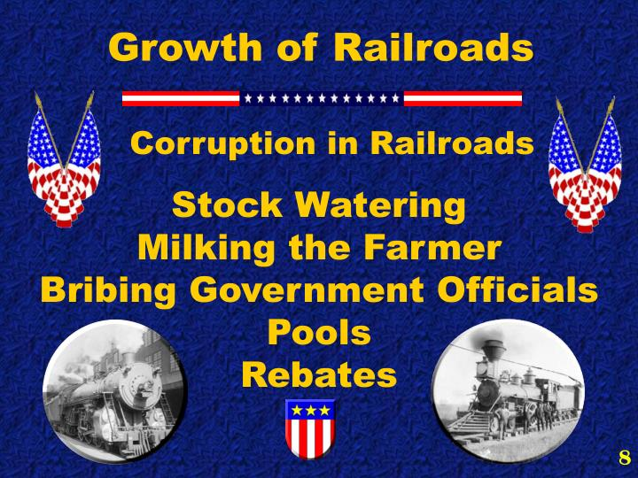 Growth of Railroads