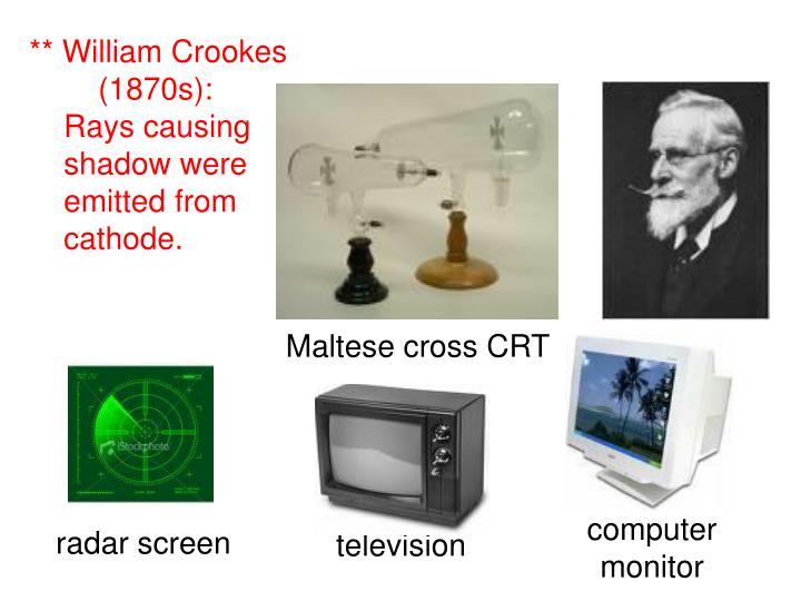 Maltese cross CRT